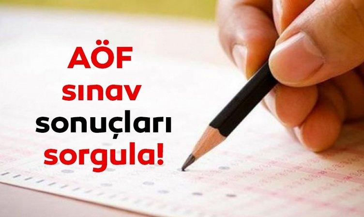 AÖF sınav sonuçları açıklandı! Anadolu Üniversitesi ile Açıköğretim AÖF sınav sonuçları nasıl ve nereden sorgulanır?