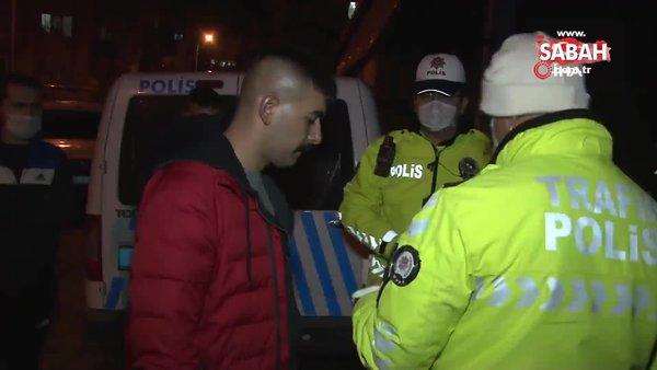 6 bin TL'lik cezadan kaçarken 22 bin lirasından oldu | Video