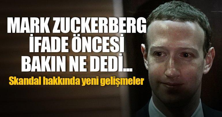 Facebook kurucusu Mark Zuckerberg ifade öncesi özür diledi