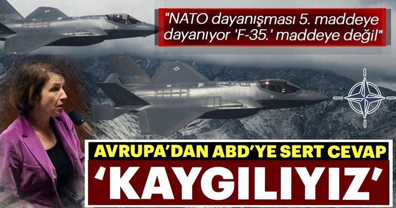 NATO dayanışması 5. maddeye dayanıyor 'F-35.' maddeye değil