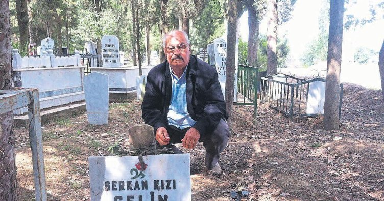 Dede mezarların açılmasını istedi