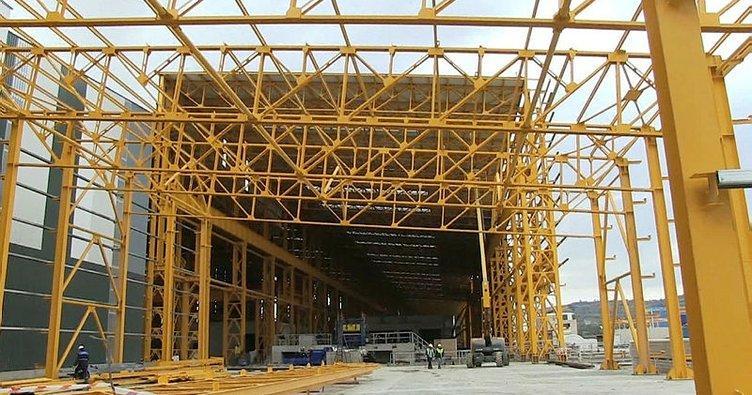 Başkan Doğan İzmit'te kurulan demir çelik fabrikasını ziyaret etti