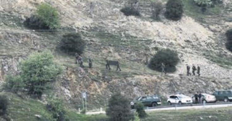 Yunanistan'da askeri helikopter düştü