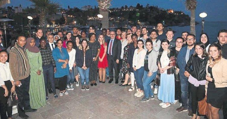 Diplomatlara Antalya tanıtımı