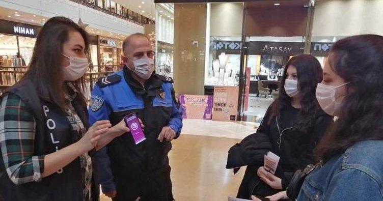 Polis, Kahramanmaraşlı kadınlara KADES'i tanıttı