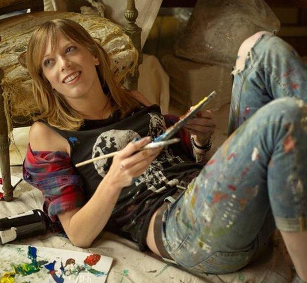 O sıradışı bir ressam!