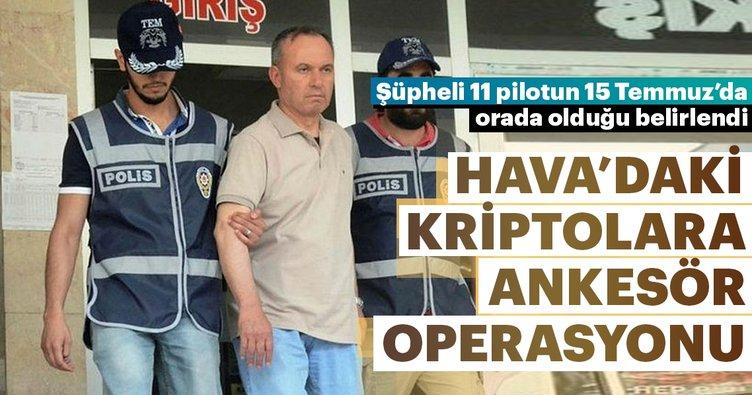 Hava'daki kriptolara ankesör operasyonu