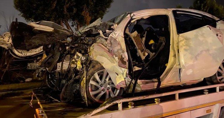 Yakınları sinir krizi geçirdi! Antalya'da korkunç kaza