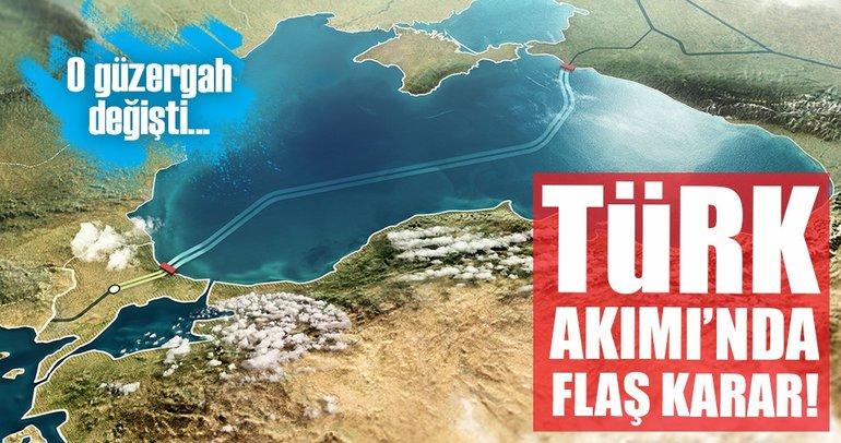Türk Akımı'nın güzergâhı değişti