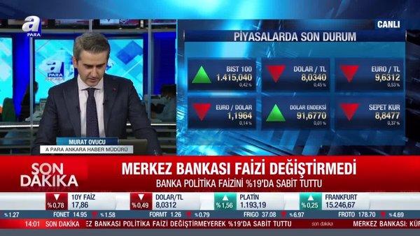 SON DAKİKA! Merkez Bankası faiz kararını açıkladı | Video