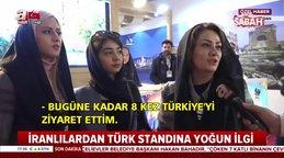 İran Uluslararası Turizm Fuarında Türk standlarına yoğun ilgi | Video