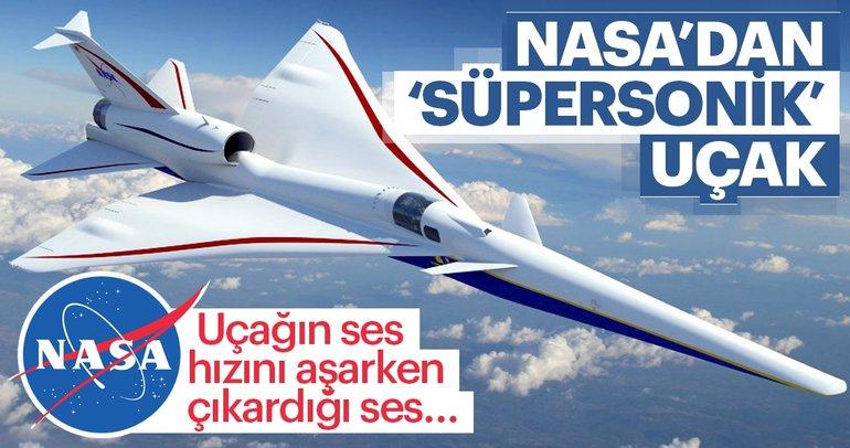 NASA'dan sessiz süpersonik uçak projesi