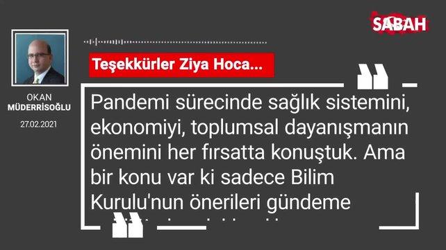 Okan Müderrisoğlu | Teşekkürler Ziya Hoca...