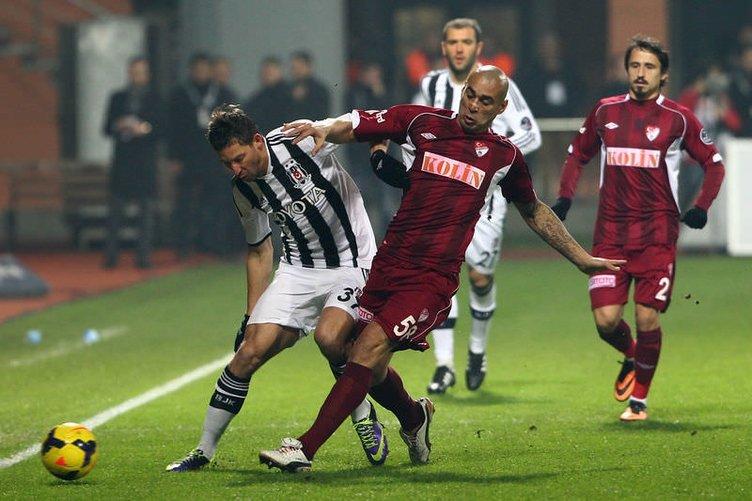 Beşiktaş - Elazığspor maçından kareler