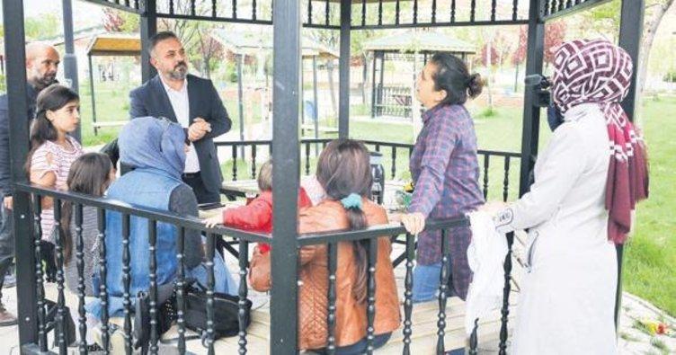 Başkan Ercan esnafla buluştu