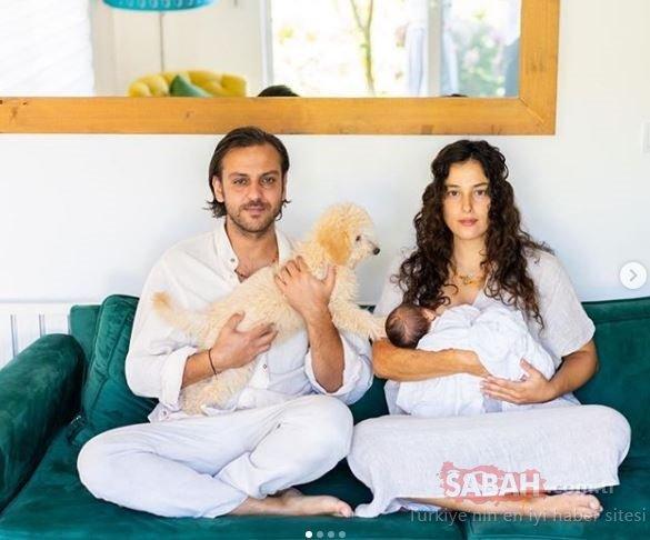 Çukur'un yıldızı Erkan Kolçak Köstendil ve eşi Cansu Tosun'un oğulları Marsel'e kavuştukları o duygusal an... Sosyal medyayı salladılar!