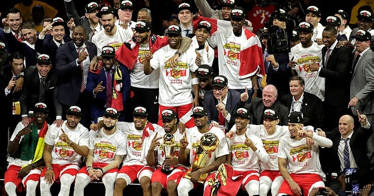 Şampiyon Toronto Raptors NBA tarihine geçti