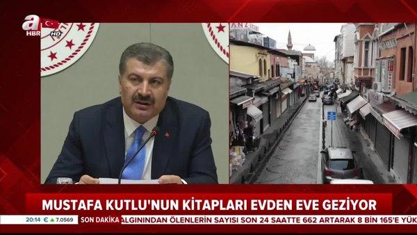 Bakan Koca'nın, kitaplarını okumayı önerdiği Mustafa Kutlu, sosyal medyada yeni bir akım başlattı | Video