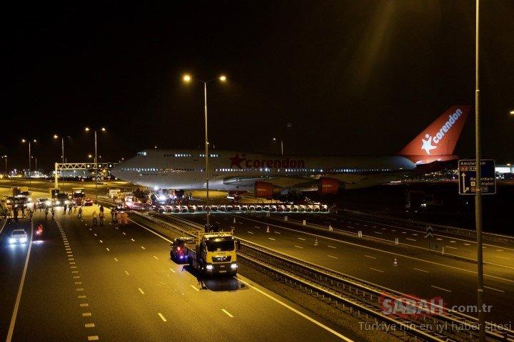 Hollanda'nın en işlek yolu bir Türk için kapatıldı