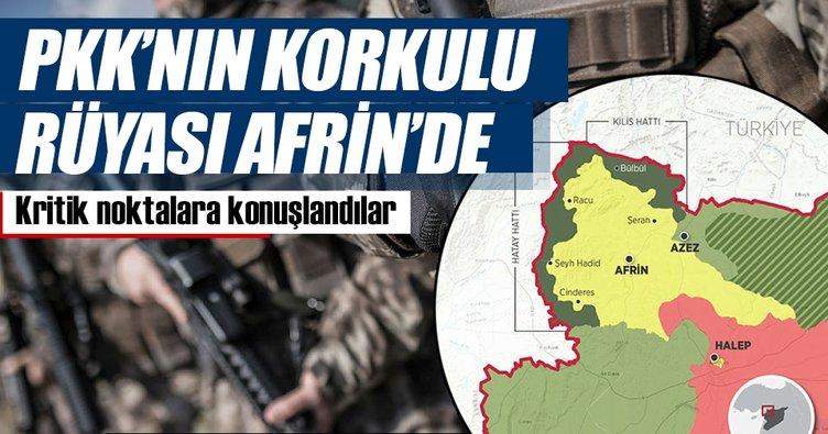PKK'nın kâbusu JÖH ve PÖH Afrin'de