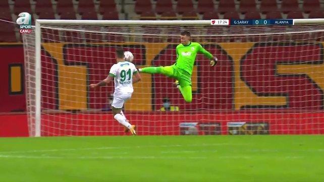 Galatasaray 2 - 3 Alanyaspor MAÇI ÖZETİ TÜM GOLLER! Galatasaray - Alanyaspor maçı tartışmalı pozisyonlar | Video