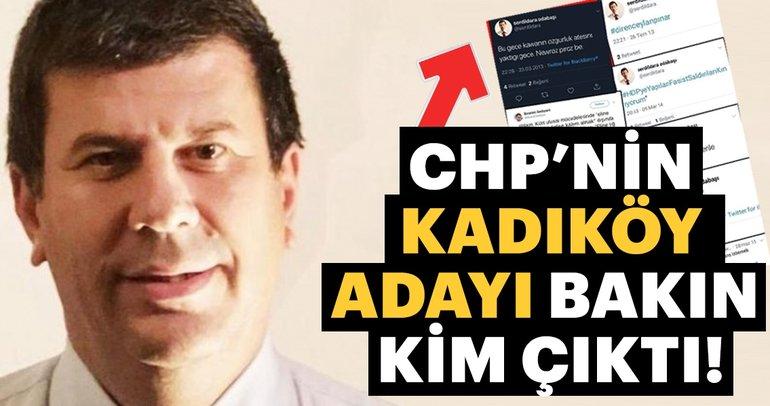 CHP'nin Kadıköy adayı Şerdil Dara OdabaÅ?ı PKK destekçisi çıktı!