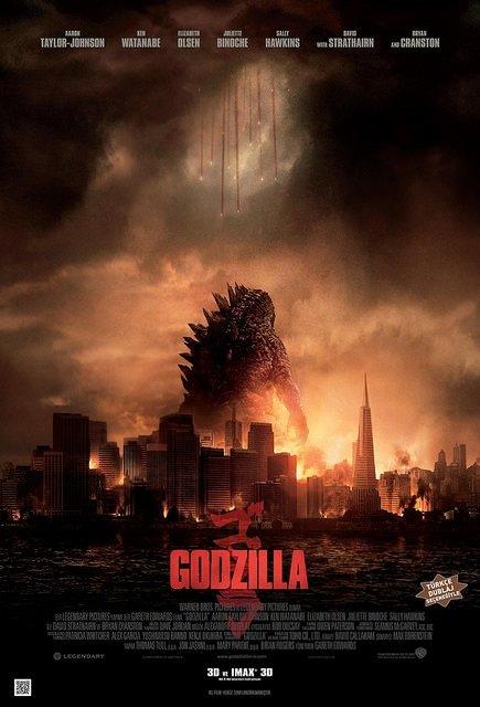 Godzilla filminden kareler