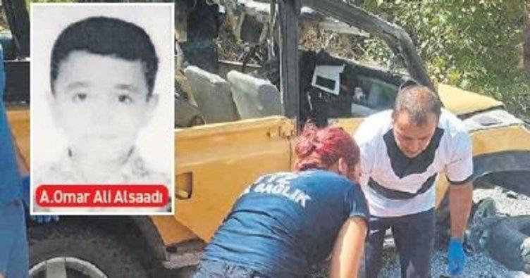 Safari kazasında baba da öldü