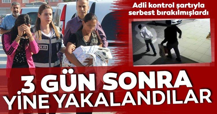 Konya'da aynı suçtan üç gün sonra tekrar yakalanan şüpheliler, serbest bırakıldı!