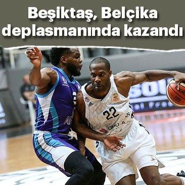 Beşiktaş Sompo Japan, Belçika deplasmanında kazandı