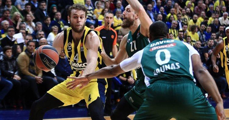 Fenerbahçe Beko, Zalgiris Kaunas'ı farklı geçti