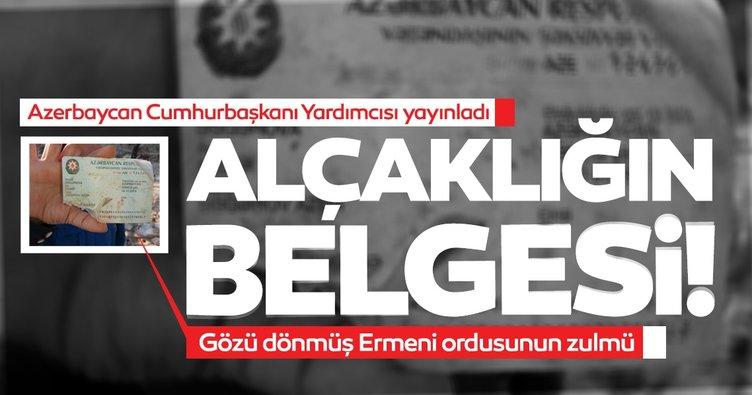 Son dakika haberi: Alçak Ermenistan saldırısında kahreden detayı paylaştı! İşte şehidin kimliği...