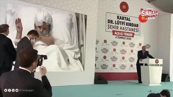 Başkan Erdoğan'dan beyin tümörü ameliyatı geçiren çocukla ilgili paylaşım | Video