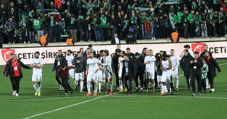 Denizlispor, Süper Lig'e koşuyor