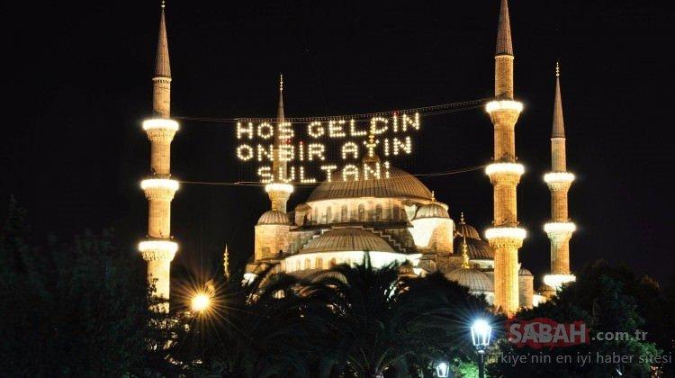Erzincan, Gümüşhane imsakiye ile iftar vakti! 2020 Erzincan ve Gümüşhane'de sahur ve iftar saati kaçta?