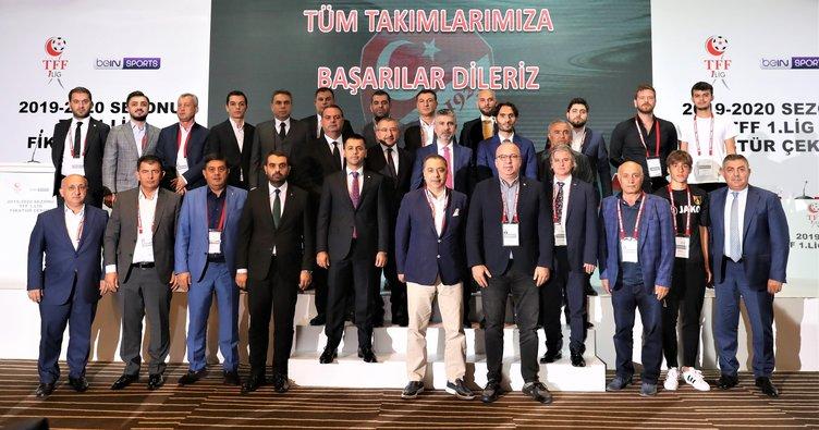 TFF 1. Lig'de 2019-2020 sezonu fikstür çekimi yapıldı