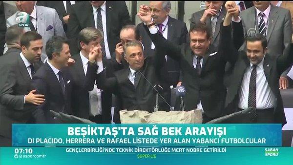 Beşiktaş'ta gündem sağ bek transferi