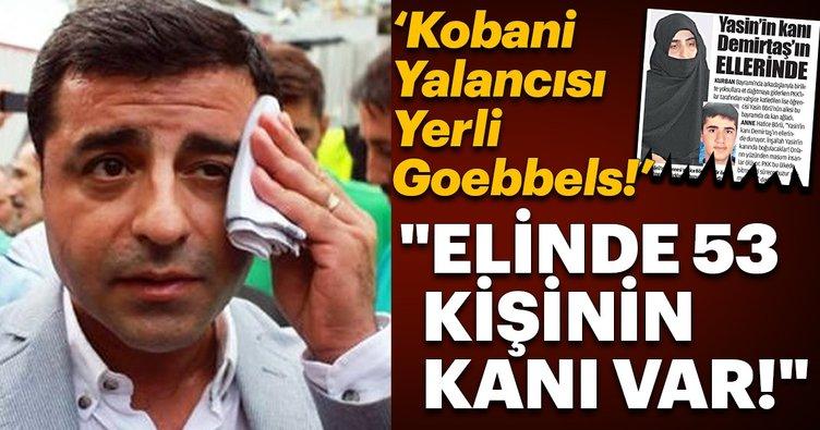Kobani Yalancısı Yerli Goebbels'  Elinde 53 kişinin kanı var