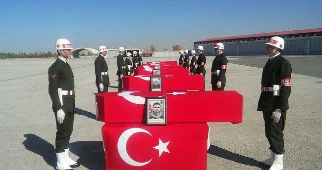 Türkiye Şemdinli şehitlerini uğurladı