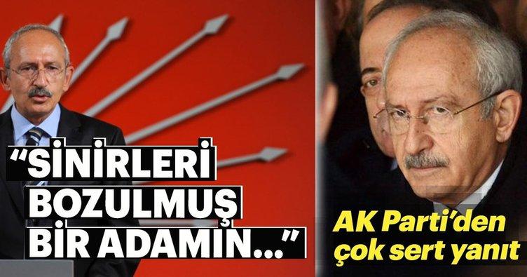 AK Parti Sözcüsü'nden Kılıçdaroğlu analizi