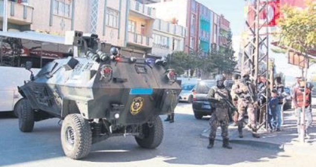 PKK'ya yönelik operasyonda 19 kişi yakalandı