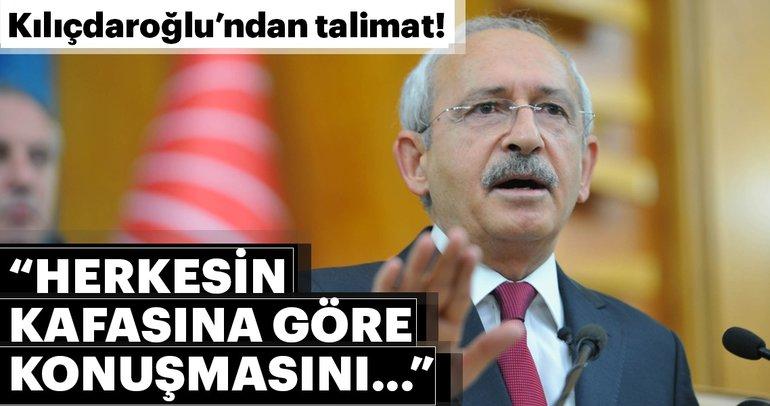 Son dakika: Kılıçdaroğlu'ndan partisine talimat