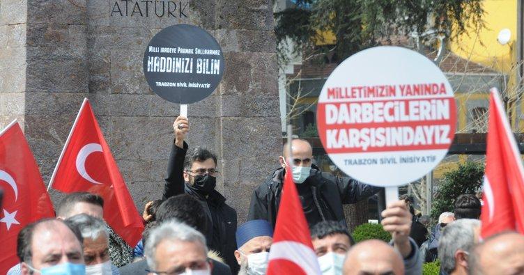 Trabzon'da Sivil İnisiyatiflerden 104 amirale tepki