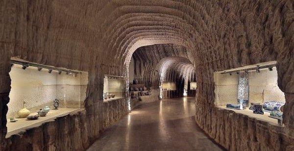 Dünyanın ilk ve tek yeraltı seramik müzesi
