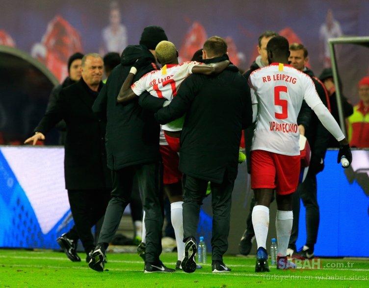 RB Leipzig - Galatasaray maçına o an damga vurdu