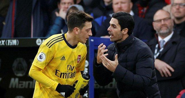 """Arsenal'de Mikel Arteta'dan Mesut Özil açıklaması! """"Adil davrandım"""""""