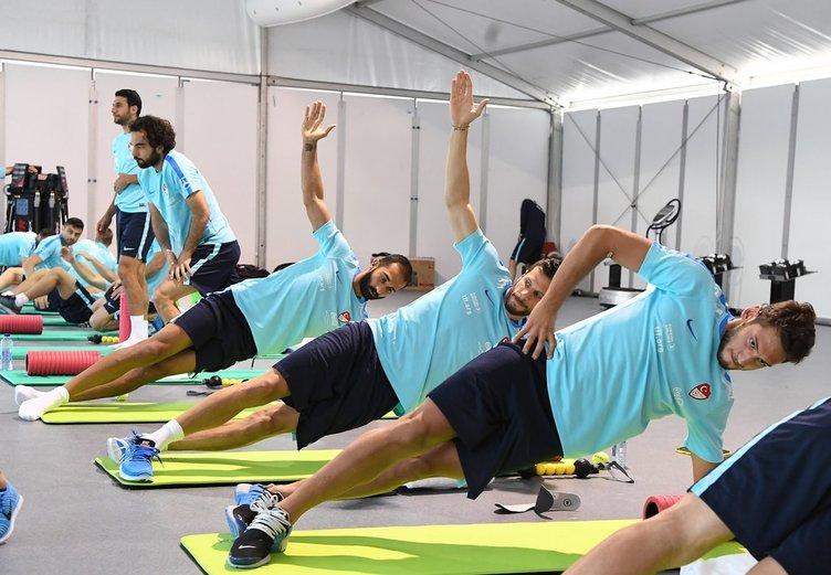 A Milli Takım Fransa'da hazırlıklara başladı