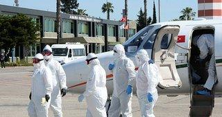 Son dakika haberi: Moskova'daki korona hastası Türk, ambulans uçakla getirildi