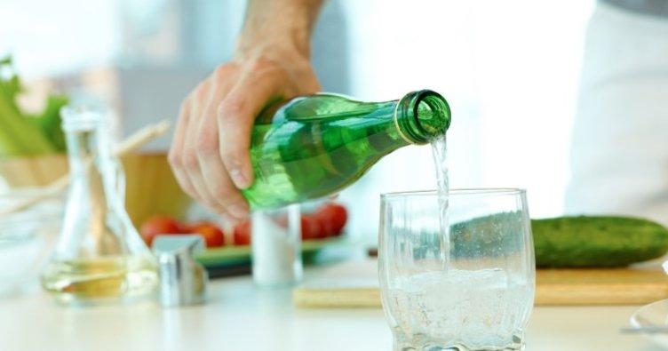 Çocuklar günde bir şişe maden suyu tüketmeli...