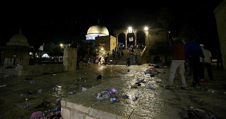 İsrail polisinin Filistinlilere yönelik saldırılarında yaralı sayısı 178'e yükseldi
